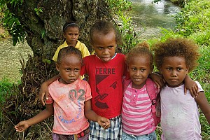Community Building in the Solomons